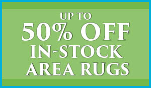 In-Stock Area Rugs up to 50% OFF during the Spring Fling sale at Blidgett's Abbey Carpet & Flooring!