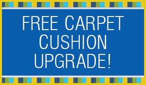 Free carpet cushion upgrade to Karastep™ Relax during the Summer Sale at Blodgett's!