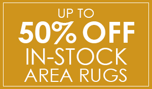 In-stock area rugs up to 50% off at Blodgett's Abbey Carpet & Flooring!