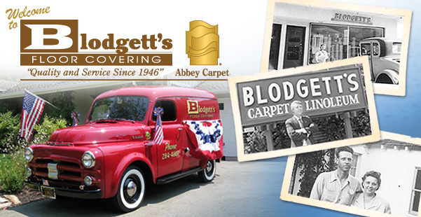 Welcome to Blodgett's Floor Covering. Quality and Service Since 1946.